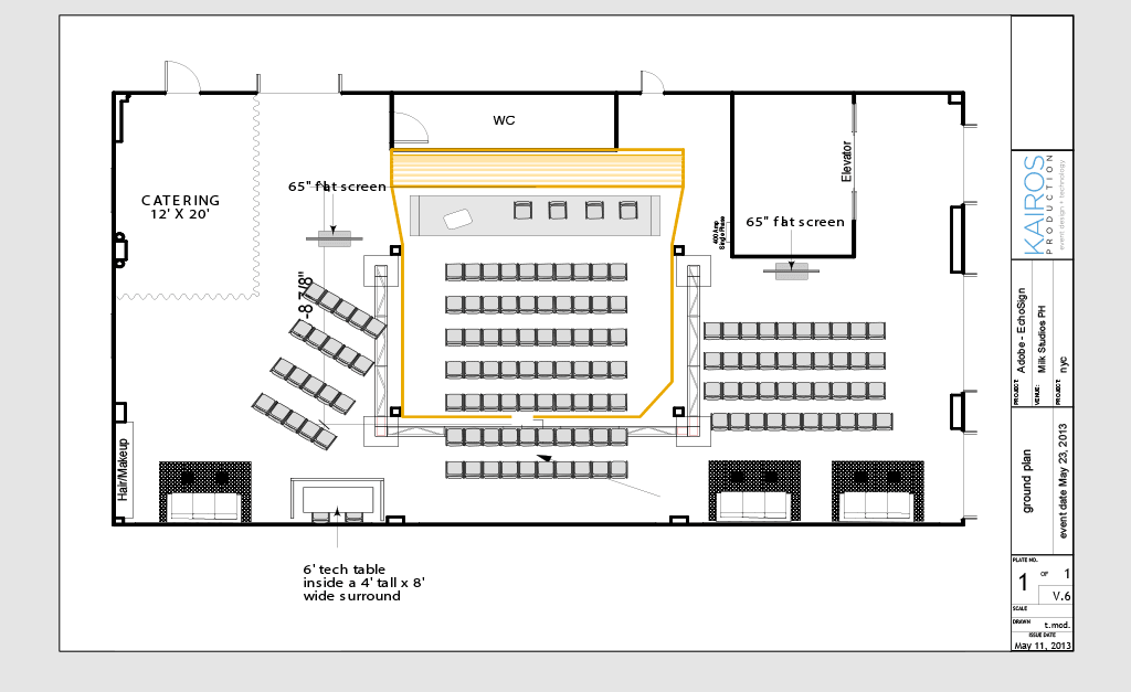 Adobe EchoSign Ground Plan